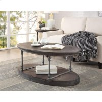 Oval Cocktail Table Product Image