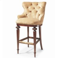 Tufted Bar Stool Product Image