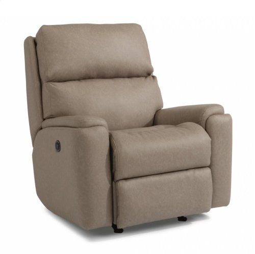 Rio Fabric Power Rocking Recliner