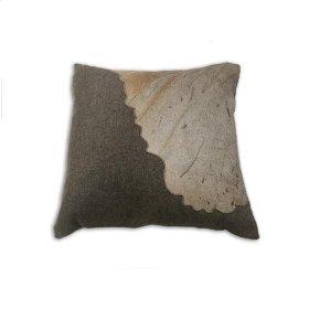 Braxton Pillow Gray Leather