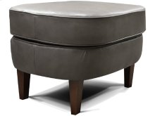 New Products Teagan Leather Ottoman 4P07AL