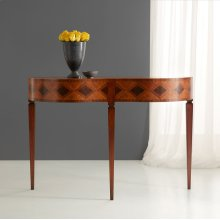 Double Bow Marquetry Sideboard