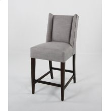 """24"""" barstools have a seat height of 26"""" when measured."""