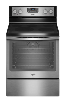 6.2 cu. ft. Capacity Electric Range with AquaLift® Self-Clean Technology