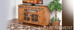 "Sedona 62"" Counter Height TV Console"