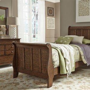 Liberty Furniture Industries Twin Sleigh Bed, Dresser & Mirror