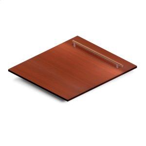 """Zline Kitchen24"""" Dishwasher Panel in Copper with Modern Handle (DP-C-24)"""