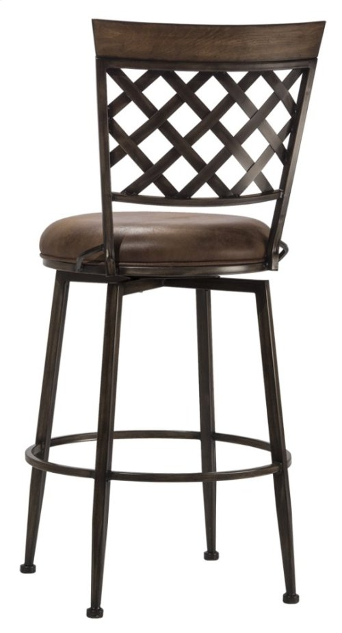 Greenfield Commercial Swivel Counter Stool
