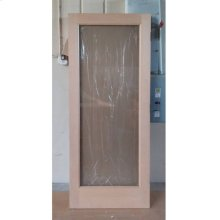Cedar Glass Door 09 - Old Stock (CALL FOR FREIGHT QUOTE)