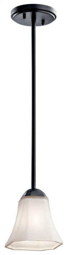 Serina 1 Light Mini Pendant Black