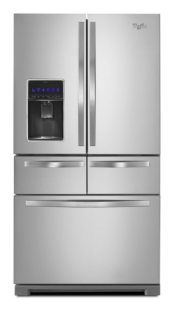 36 Inch Wide Double Drawer French Door Refrigerator With Dual Cooling  System   26 Cu