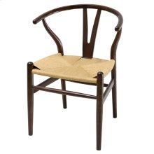 Vane Chair, Dark Walnut