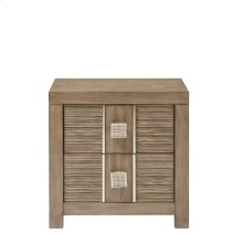 Salon 2 Drawer Lighted Nightstand
