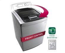4.5 cu. ft. Ultra Large Capacity Top Load Washer with Front Control Design and WaveForce Technology