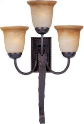 Aspen 3-Light Wall Sconce