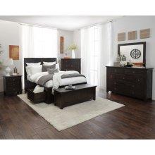 Kona Grove 4 Piece Queen Bedroom Set: Bed, Dresser, Mirror, Chest