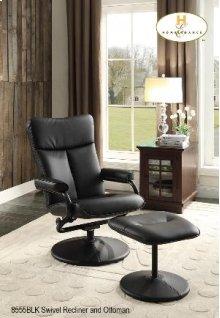 Swivel Reclining Chair & Ottoman
