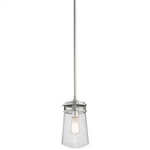 Lyndon Collection Lyndon 1 Light Outdoor Pendant in BA BA