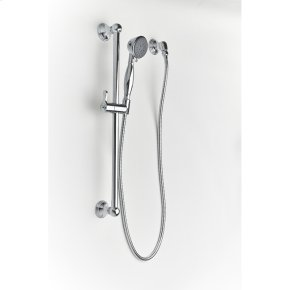 Polished Chrome Summit (Series 11) Slide Bar with Handshower