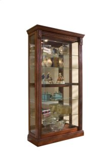 2-way Sliding Door Curio Medallion Cher