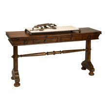 Windsor Flip Top Console Table