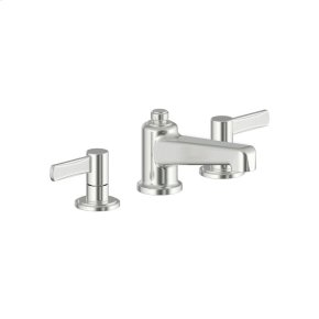 Widespread Lavatory Faucet Wallace (series 15) Satin Nickel