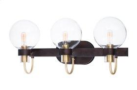 Bauhaus 3-Light Bath Vanity