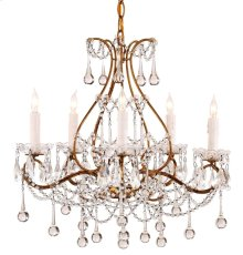 Paramour Chandelier - 18h x 19dia., adjustable from 16.5h to 62h