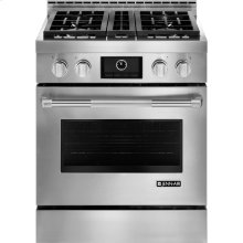 "Pro-Style® Gas Range with MultiMode® Convection, 30"", Pro-Style® Stainless"