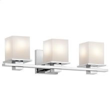 Tully Collection Tully 3 light Bath Light - Chrome CH
