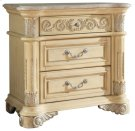 Sienna Antique White Night Stand - 32''L x 18''D x 30''H Product Image