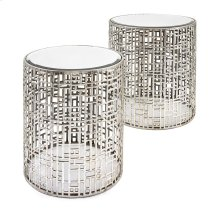 Evans Mirror Tables - Set of 2