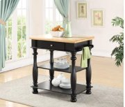 Avondale Black Kitchen Island Product Image