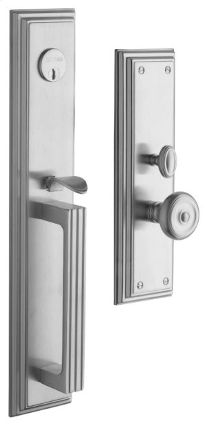 Satin Chrome Tremont Entrance Trim