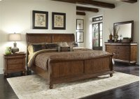 Rustic Traditions Sleigh Bed King Product Image