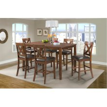 DAX1007CS  Pub Table and 6 Stools - Alex