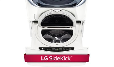 1.0 cu. ft. LG SideKick Pedestal Washer, LG TWINWash Compatible Product Image