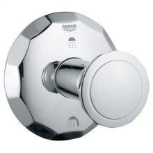 Starlight® Chrome 3-port Diverter Trim