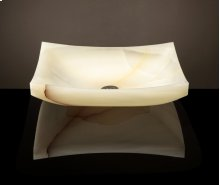 Zen Vessel White Onyx