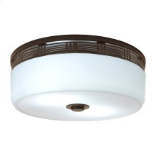 InVent Series Single-Speed 80 CFM, 2.0 Sones, ENERGY STAR Qualified Decorative Fan Light in Oil-Rubbed Bronze Finish