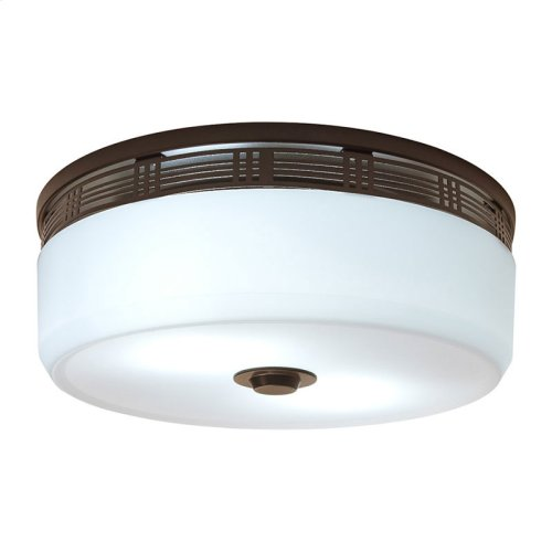 InVent Series Single-Speed 80 CFM, 2.0 Sones, ENERGY STAR Qualified Decorative Bathroom Exhaust Fan with Light in Oil-Rubbed Bronze Finish