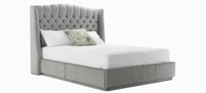 Melanie Queen bed, narrow base with front drawer