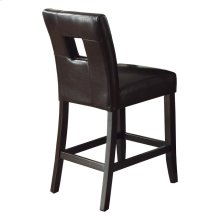 Counter Height Chair, Black P/U