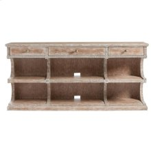 Juniper Dell Media Console in English Clay