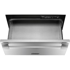 "DacorHeritage 24"" Pro Warming Drawer, Silver Stainless Steel"