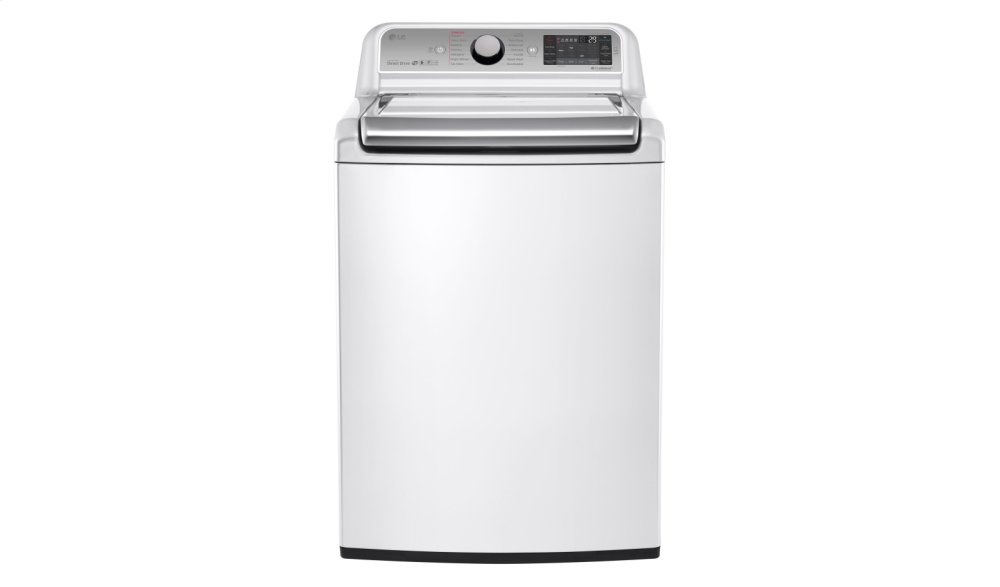 5.2 cu. ft. Mega Capacity Top Load Washer with TurboWash(R) Technology