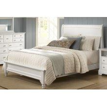 Sleigh Storage Bed (Queen)