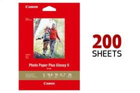 Canon Photo Paper Plus Glossy II 5x7 - 200 Sheets
