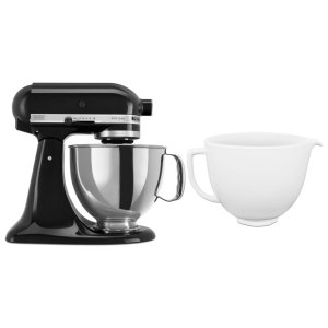 KitchenaidExclusive Artisan® Series Stand Mixer & Ceramic Bowl Set - Onyx Black