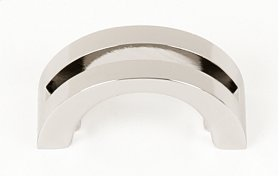 Slit Top Pull A421 - Polished Nickel